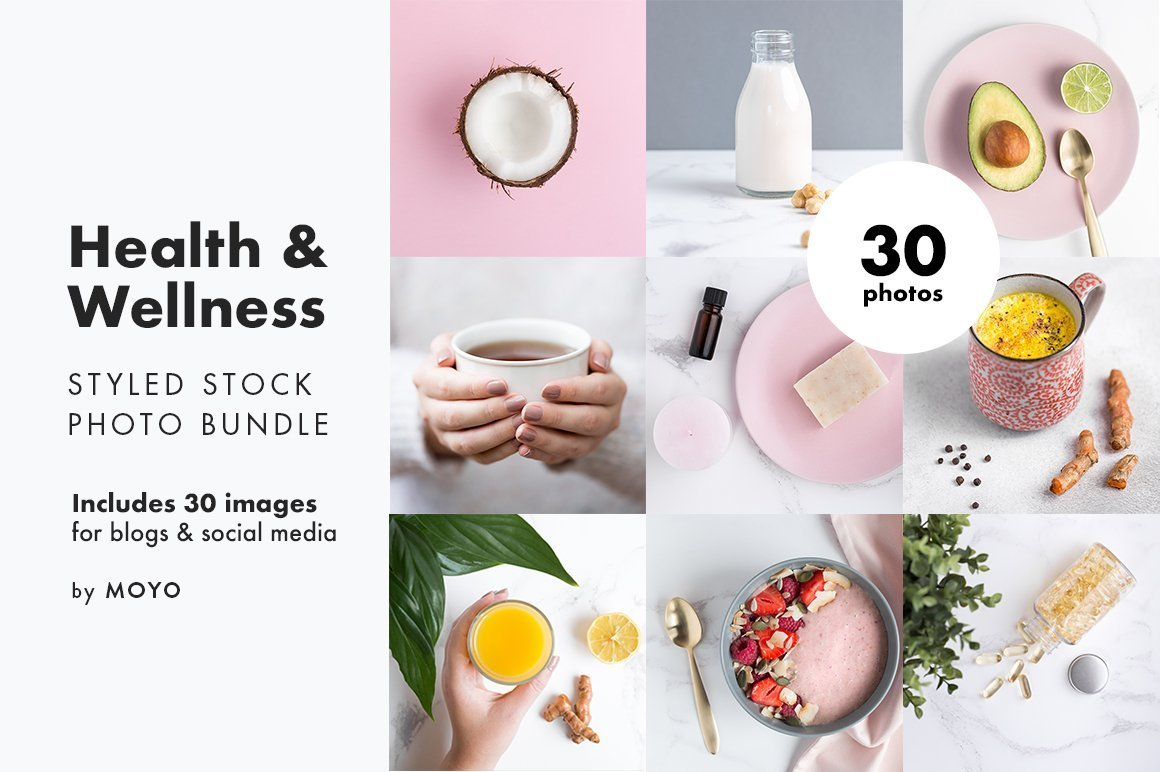 MOYO Studio - Styled Stock Photos - Health & Wellness