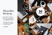 MOYO Studio - Styled Stock Photos - Masculine Work & Desktop
