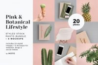 MOYO Studio - Styled Stock Photos - Pink & Botanical
