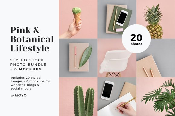 MOYO Studio - Styled Stock Photos - Pink & Botanical