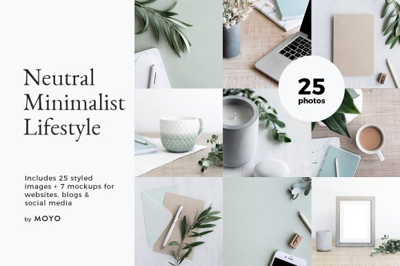 MOYO Studio - Styled Stock Photos - Neutral Minimalist Lifestyle