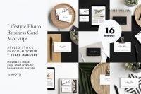 MOYO Studio - Business Card & iPad Lifestyle Photos & Mockups