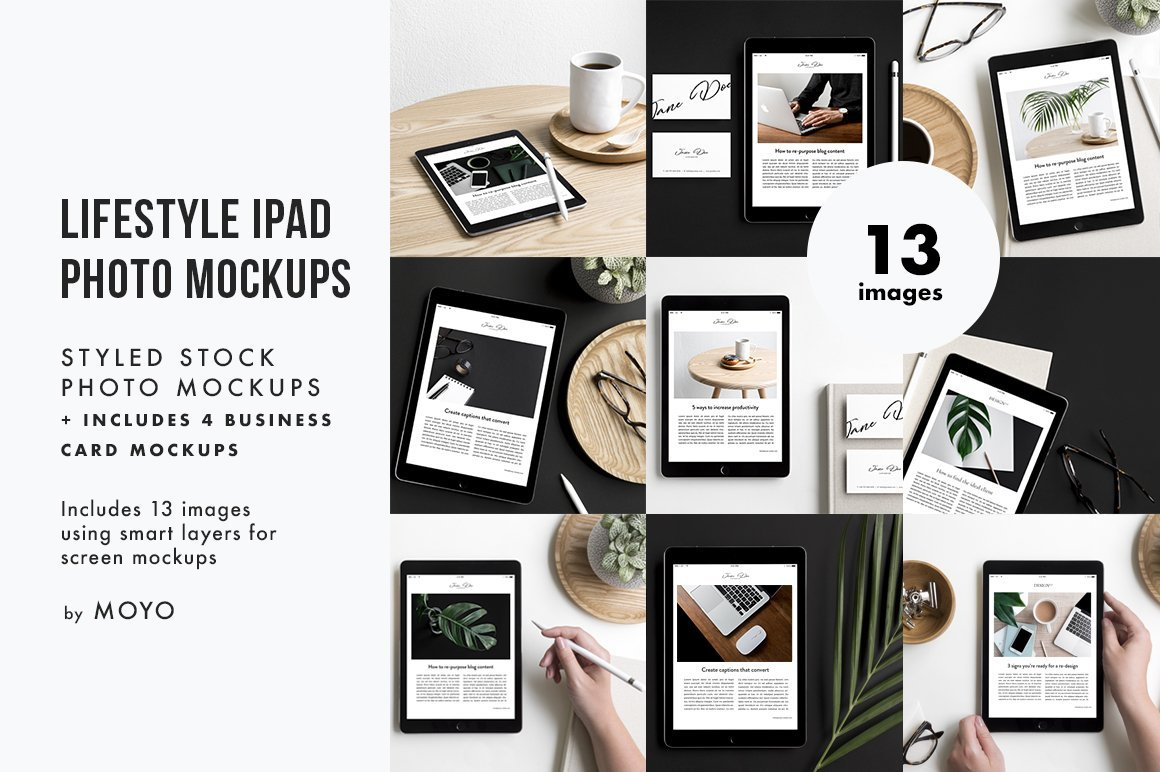 Moyo Studio - iPad Lifestyle Bundle Cover