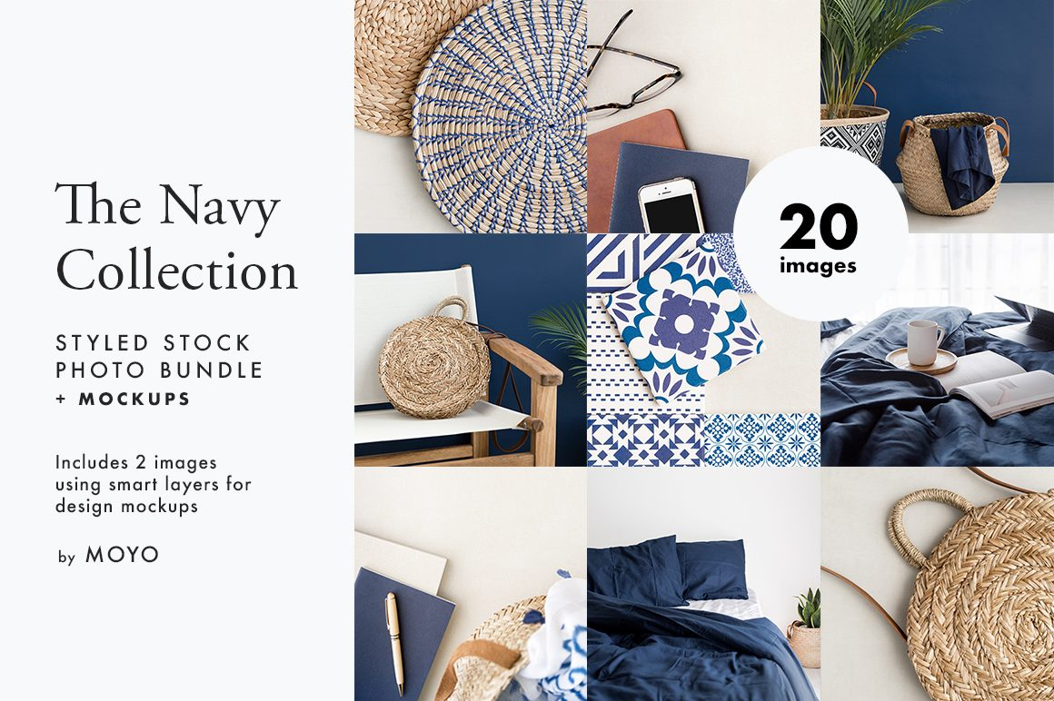 The Navy Collection Styled Stock Photos - MOYO Studio