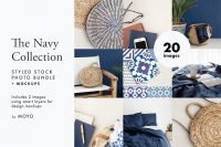 The Navy Collection Styled Stock Photos - MOYO Studio