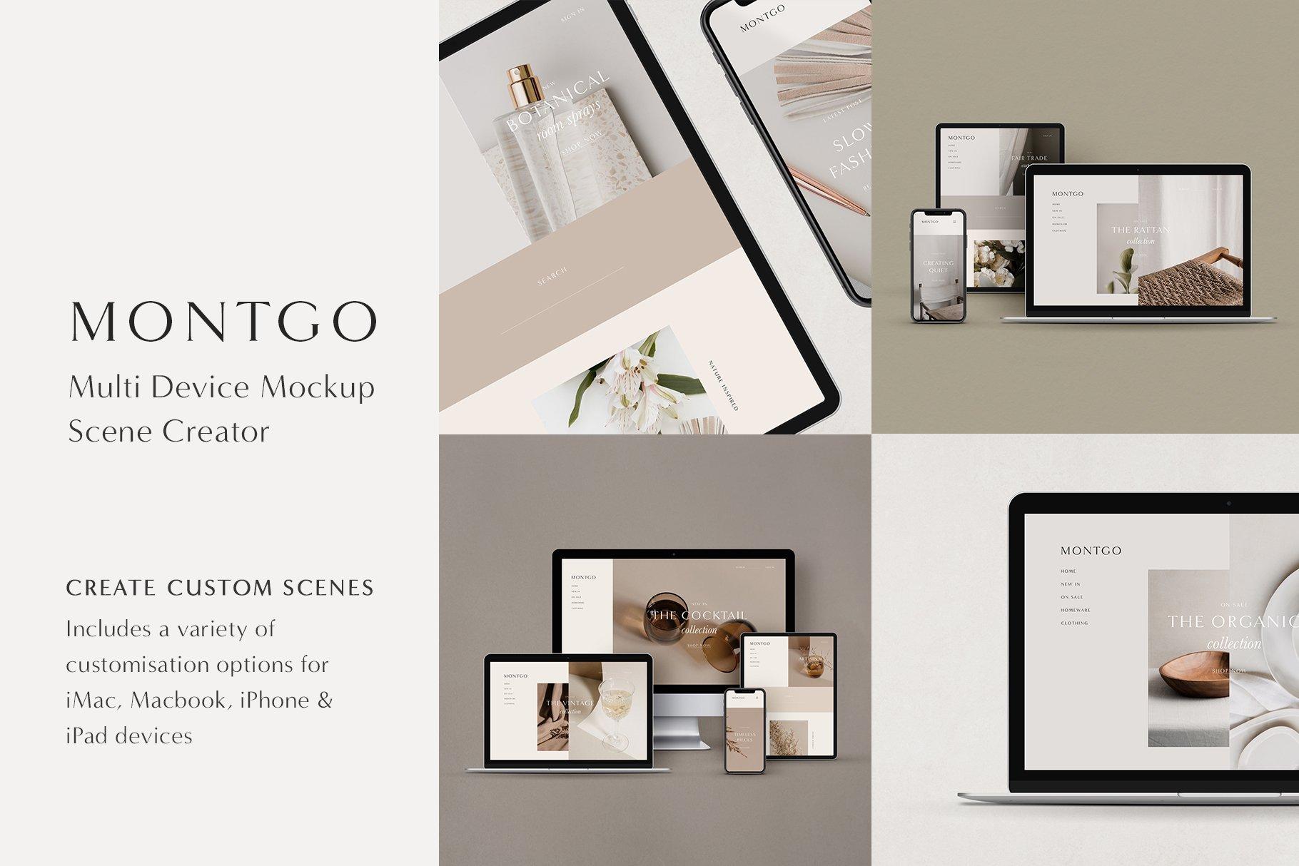 MOYO - Multi Device Mockup Scene Creator